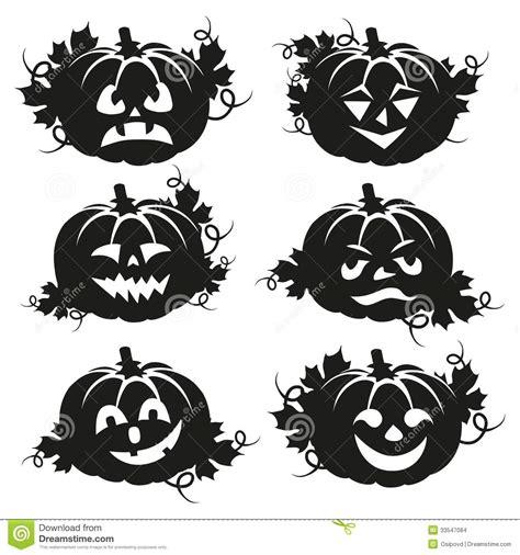 imagenes en blanco y negro de halloween calabaza blanco y negro para halloween imagenes de archivo