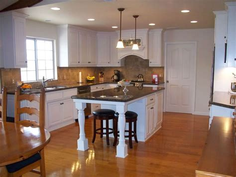 center island kitchen designs best creative center island designs for kitchens 9 19740