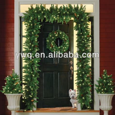 outdoor garland with lights garlands with lights outdoor holidays