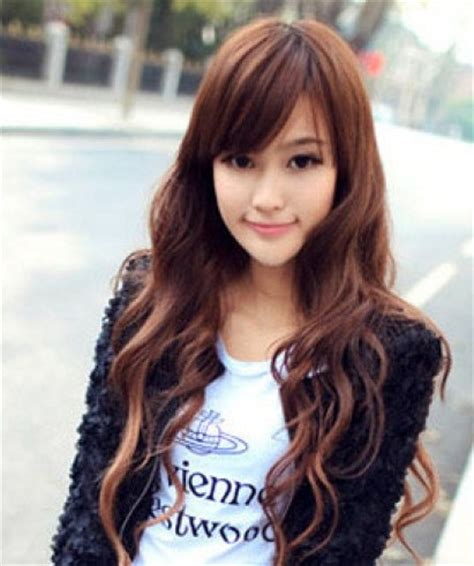 hairstyle for oblong asian face cute korean hairstyles for girls 2013 haircuts styles 2013