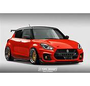 This Modified Suzuki Swift Sport Looks Red Hot  Details