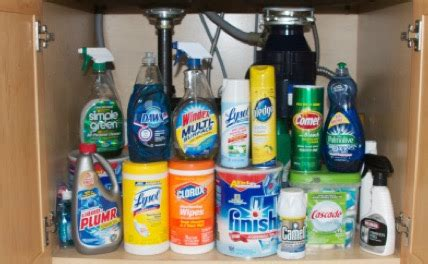 toxic household chemicals household toxins