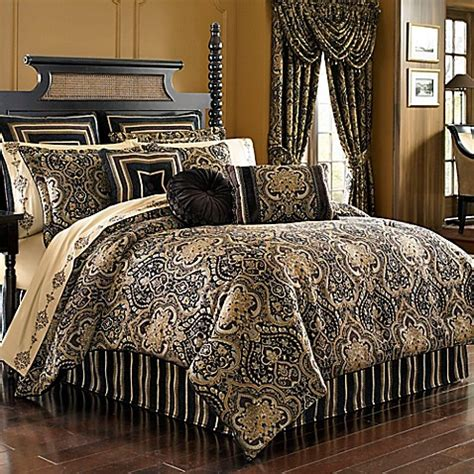 j queen new york bedding j queen new york paramount comforter set in chocolate