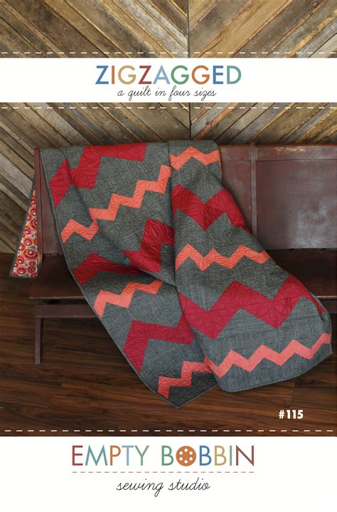 zig zag sewing pattern zigzagged quilt pattern empty bobbin sewing studio