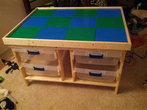 diy wood lego table diy lego table furniture ideas diy craft projects