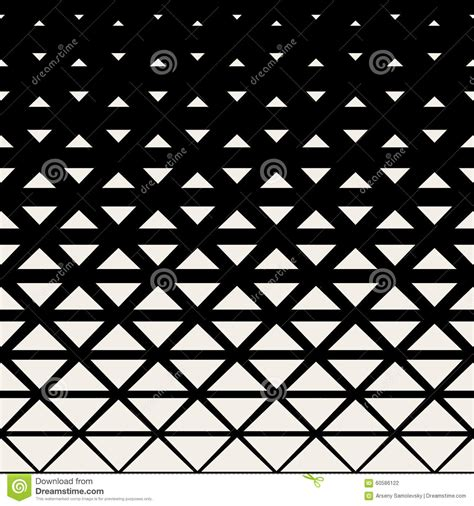 black triangle pattern vector vector seamless black and white triangle grid halftone
