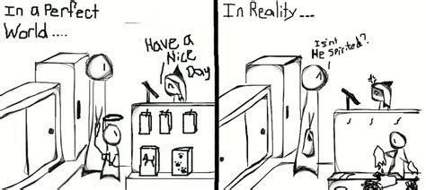 a typical day at work by neko catlin on deviantart