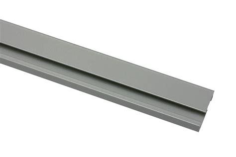 gardinenschiene alu 1 laufig vorhangschiene 1 l 228 ufig aluminium 250 cm 31446