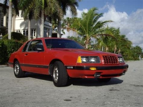 auto manual repair 1986 ford thunderbird parking system find used 1986 ford thunderbird turbo coupe 5 speed in miami florida united states for us