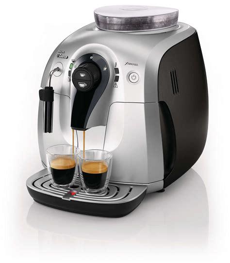 Coffee Maker Philips Saeco xsmall automatic espresso machine hd8745 47 saeco