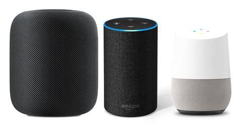 amazon echo vs google home vs apple homepod tech spec showdown apple homepod vs amazon echo vs google