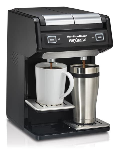 Amazon.com: Hamilton Beach 49998 FlexBrew Dual Single Serve Coffee Maker, Black: Kitchen & Dining