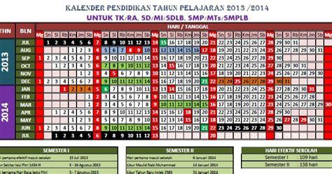 Emk Efektif 1 imam berbagi kalender pendidikan tahun pelajaran