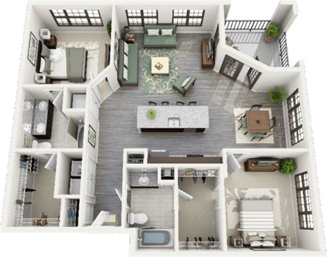 2 bedroom apartments in north carolina 3d floorplans tumblr