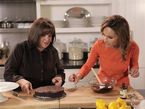 chef garten cooking with friends in the kitchen with ina garten