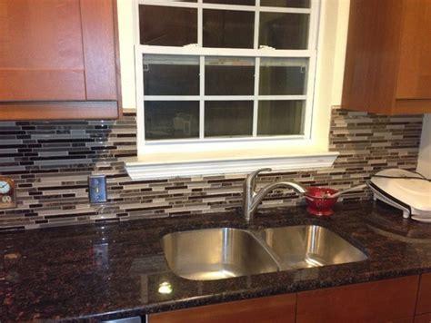 backsplash around window need help finishing out kitchen backsplash