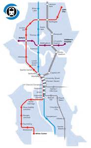 Seattle Metro Map by Let S Build A Seattle Subway