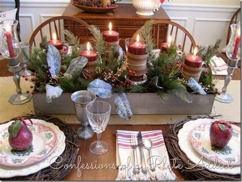Dining Table Centerpiece Ideas For Everyday by Beautiful Christmas Tablescapes Christmas Decor Christmas