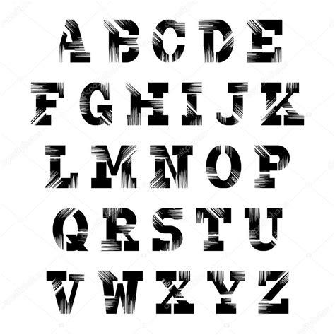 Imagenes Retro Soda Letra | letra retro conjunto de letras vintage abecedario