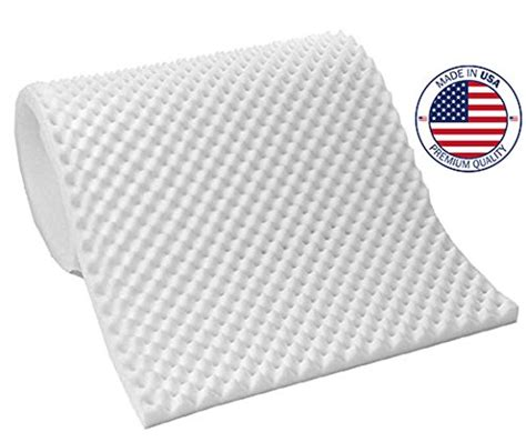 Hospital Mattress Pad by Egg Crate Convoluted Foam Mattress Pad 3