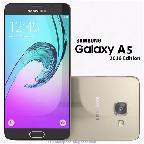i samsung a5 samsung galaxy a5 2016 price and features ez mobile prices