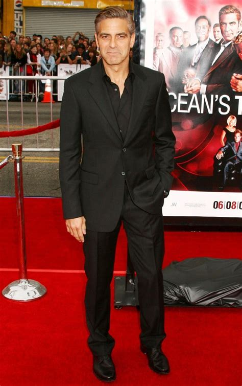 George Clooney Says Oceans Thirteen Will Be The Last by George Clooney Picture 22 Los Angeles Premiere Of