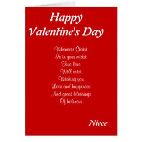 happy valentines day niece niece valentines day greeting cards zazzle