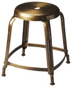 dutton bronze iron stool industrial bar stools and