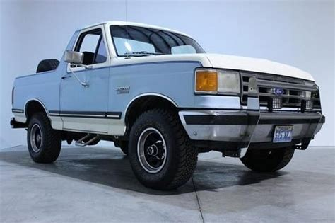 ford bronco hardtop buy used 1987 ford bronco xlt 4x4 nevada truck rust