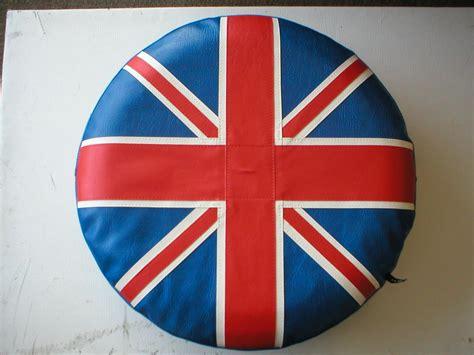 Vespa Union Wheel Shape Bag vw cervan spare wheel cover union design p k trim