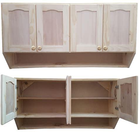 mueble de cocina aereo  puertas alacena madera lcm  en mercado libre