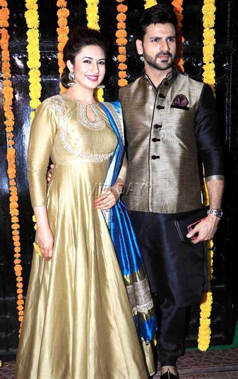 vivek dahiya sev yeter divyanka tripathi with husband vivek dahiya at ekta kapoor