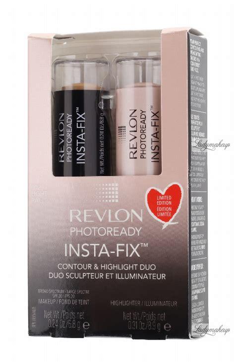 Revlon Contour And Highlight revlon photoready insta fix contour highlight duo