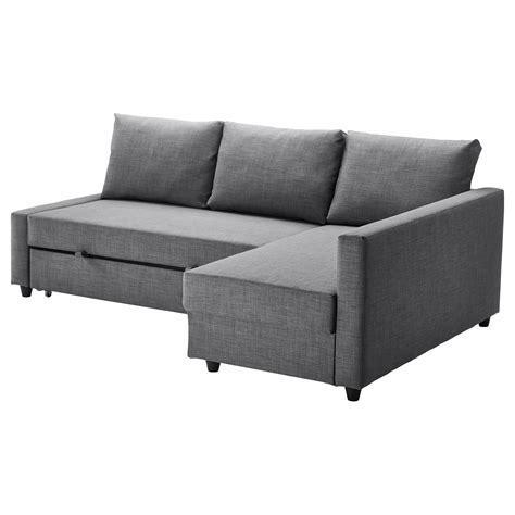 Ikea Sofa Orange Friheten Corner Sofa Bed With Storage Skiftebo Dark Grey