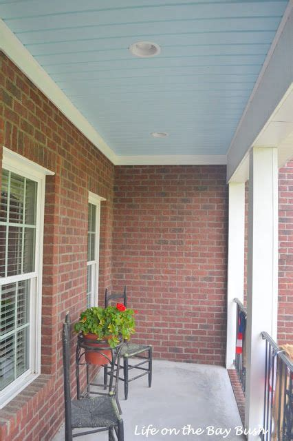 vinyl painted porch ceiling painting your porch ceiling