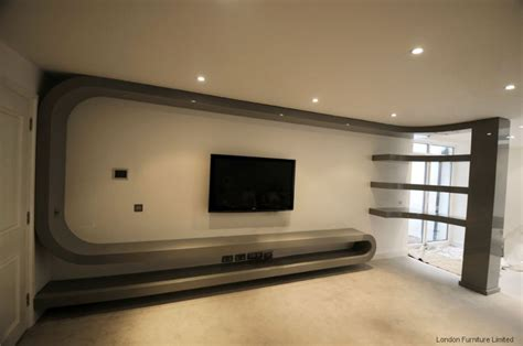 fitted living room furniture bespoke tv unit