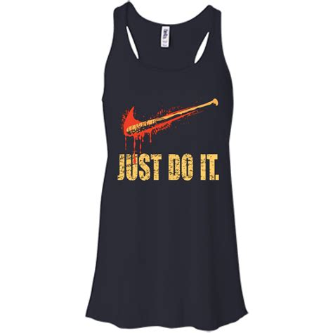 walking dead t lucille just do it shirt the walking dead t shirt tank top