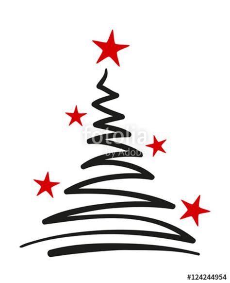 moderne weihnachtsdeko 3492 quot tree scribble quot stockfotos und