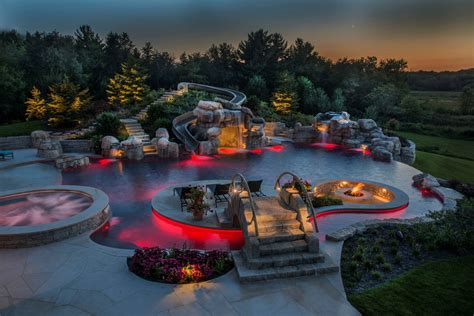 Lazy River Pools For Your Backyard More Than A Rivulet Backyard Lazy Rivers Pool Amp Spa News