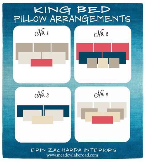 king bed pillow size bed pillow arrangement on pinterest pillow arrangement