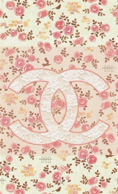 girly pattern pinterest cute shabby chic vintage chanel iphone wallpaper inlove
