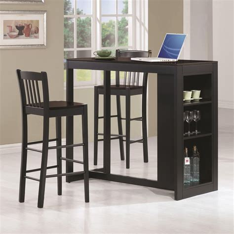 black pub table set malin black wood pub table set a sofa furniture