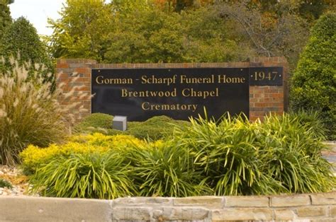 gorman scharpf funeral home in springfield mo service