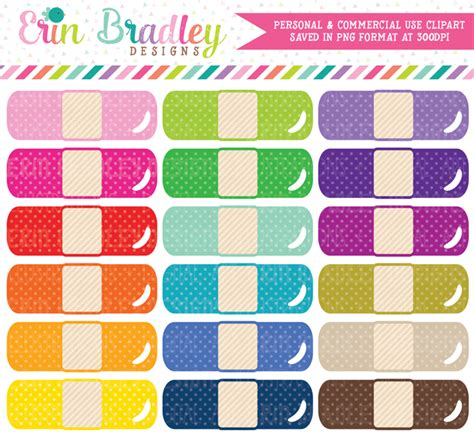 bandage clipart bandage clipart planners planner stickers