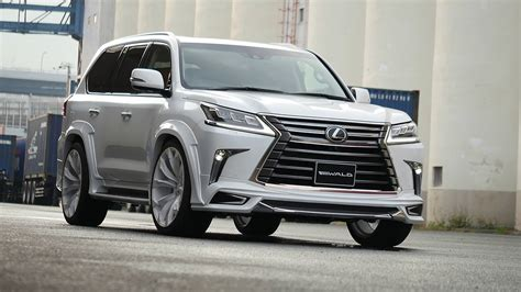 wald lexus lx570 2016 lexus lx gets sporty kit from wald international