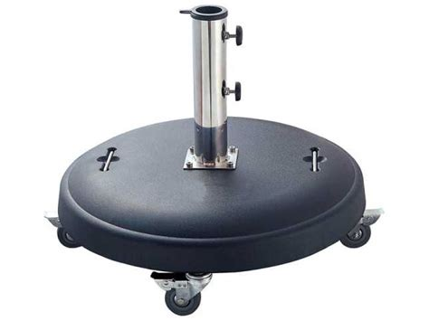 Caluco 110 lbs. Umbrella Base with Wheels   923 110
