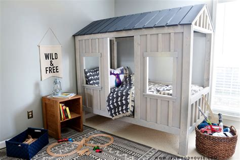 Build A Cabana by Diy Cabin Bed The House Of Wood