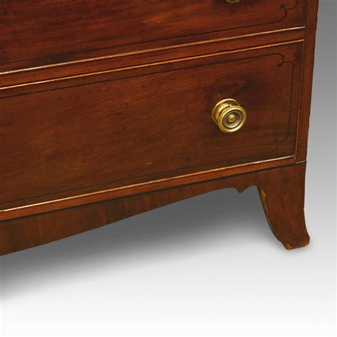 Large Chest Of Drawers Uk by Large Regency Mahogany Chest Hingstons Antiques Dealers