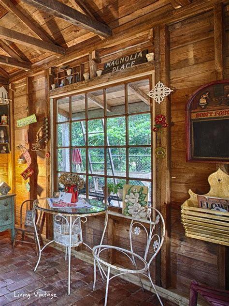 jennys garden shed revealed living vintage