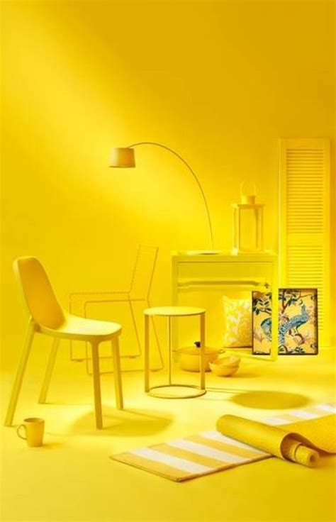 yellow room jump in the deep end and paint everything yellow yellow